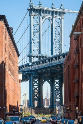 "Dumbo, Manhattan Bridge - ""Once Upon a Time in America"""