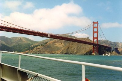 Golden Gate Bridge - San Fransisco